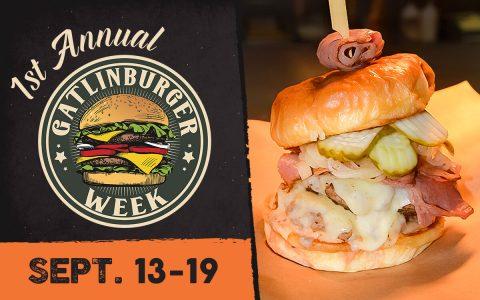 First Annual GatlinBURGER Week Sept 13-19