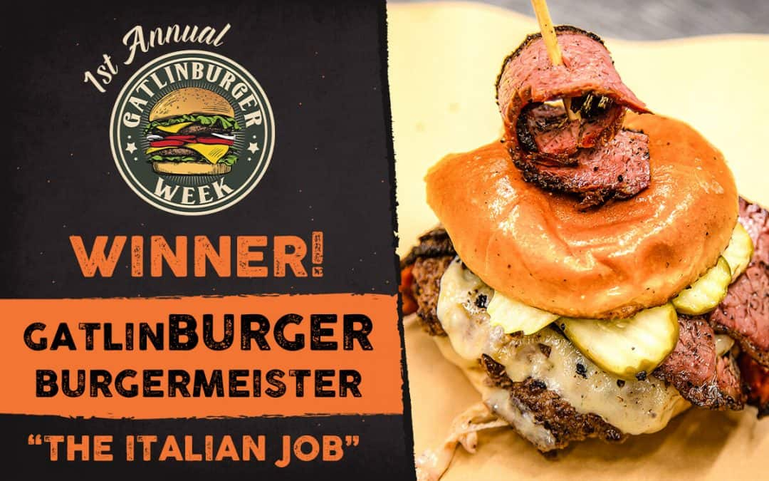 Smith & Son Corner Kitchen Named GatlinBURGER Burgermeister!